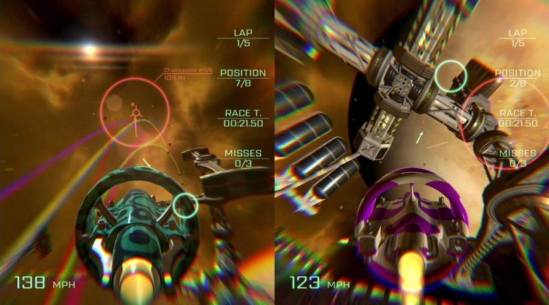 VSR: Void Space Racing Nintendo Switch