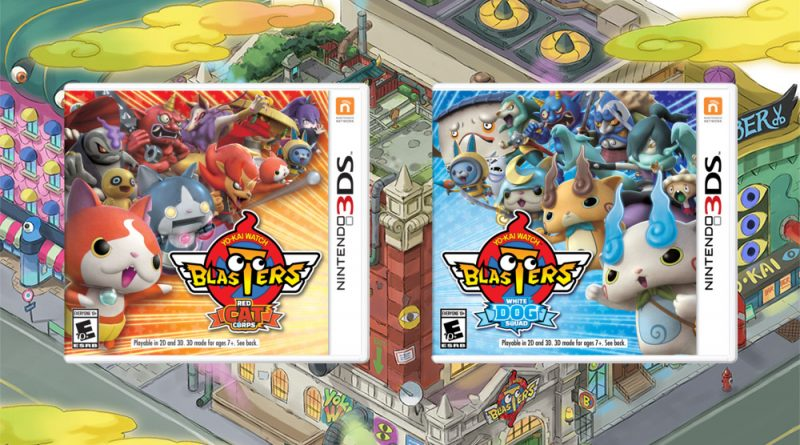Yo-kai Watch Blasters: Red Cat Corps Yo-kai Watch Blasters: White Dog Squad Nintendo 3DS