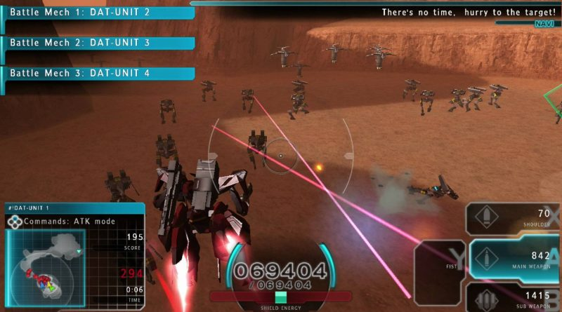 Assault Gunners HD Edition Nintendo Switch