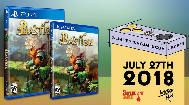 Bastion PS Vita PS4