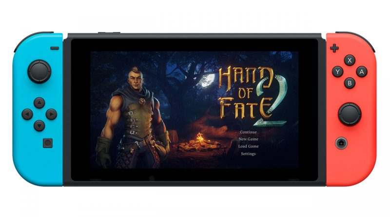Hand of Fate 2 Nintendo Switch