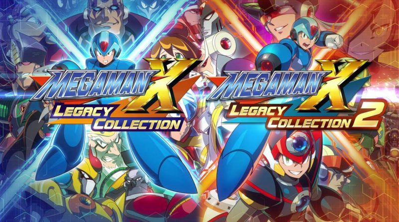 Mega Man X Legacy Collection 1 and 2 Nintendo Switch