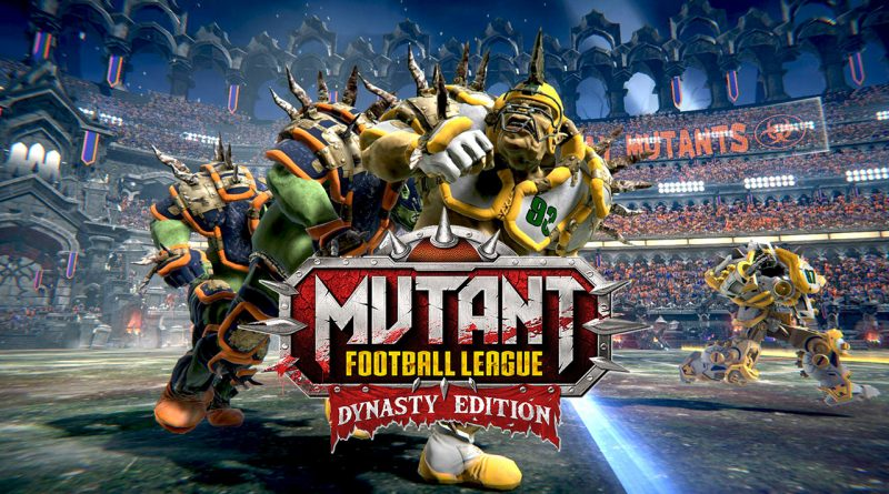 Mutant Football League: Dynasty Edition Nintendo Switch