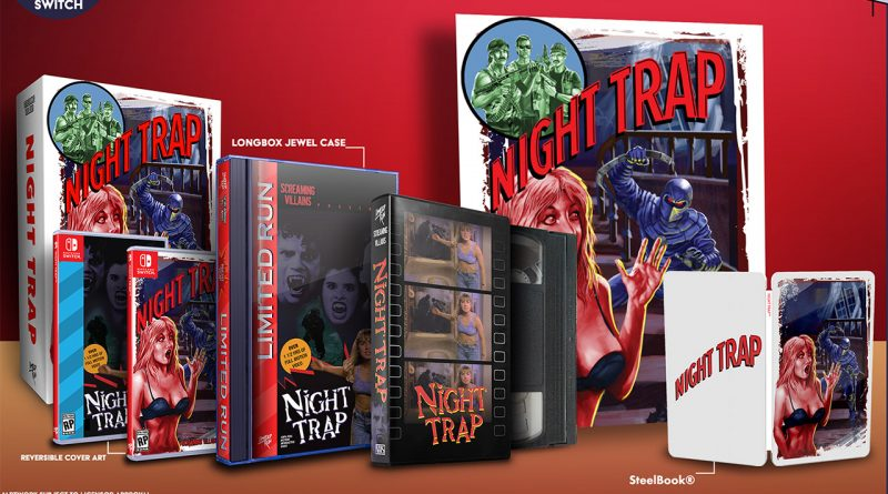 Night Trap - 25th Anniversary Edition Nintendo Switch