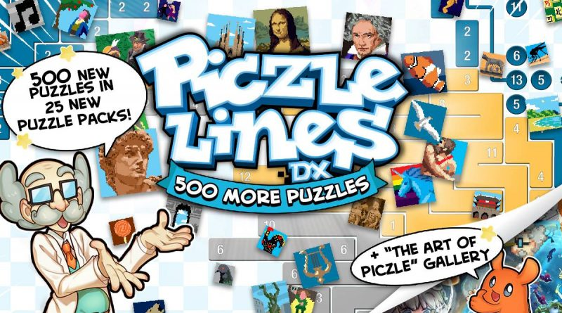 Piczle Lines DX 500 More Puzzles! Nintendo Switch