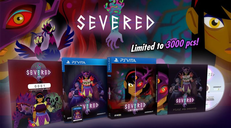 Severed Limited Edition PS Vita