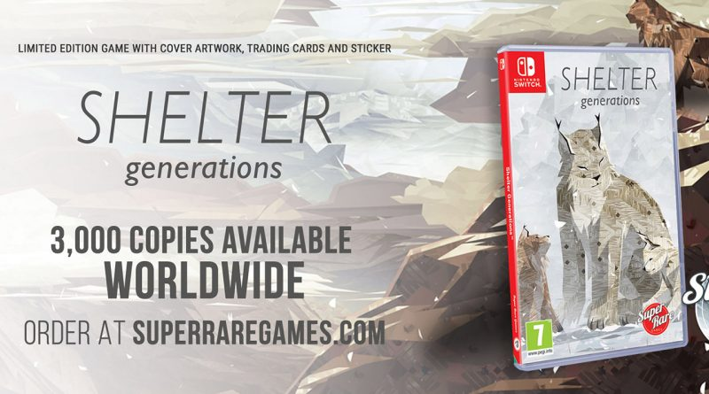 Shelter Generations Nintendo Switch