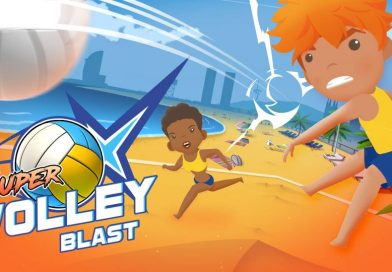 Super Volley Blast Out Now On Nintendo Switch
