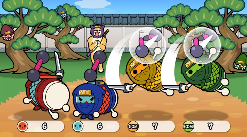 Taiko no Tatsujin: Drum 'n' Fun! Nintendo Switch