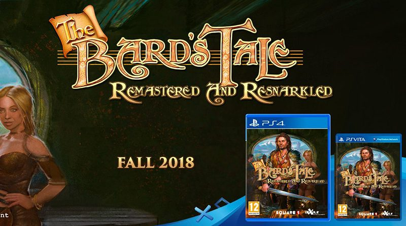 The Bard's Tale: Remastered and Resnarkled Physical Edition Announced For PS Vita & PS4