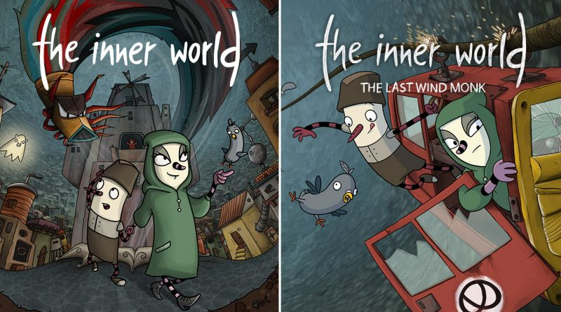 The Inner World The Inner World: The Last Wind Monk Nintendo Switch