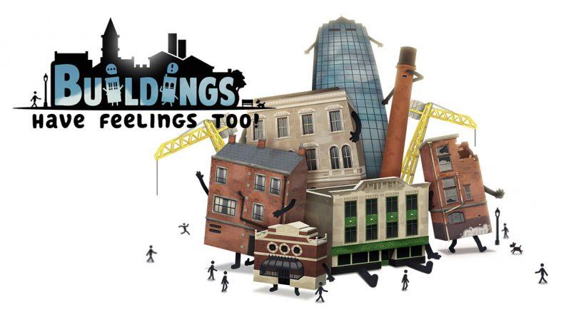 Buildings Have Feelings Too! Nintendo Switch