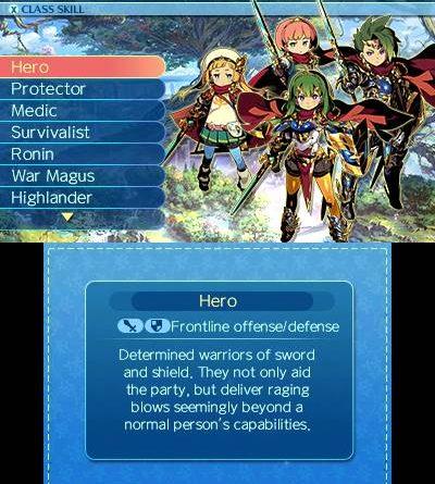 Etrian Odyssey Nexus Nintendo 3DS