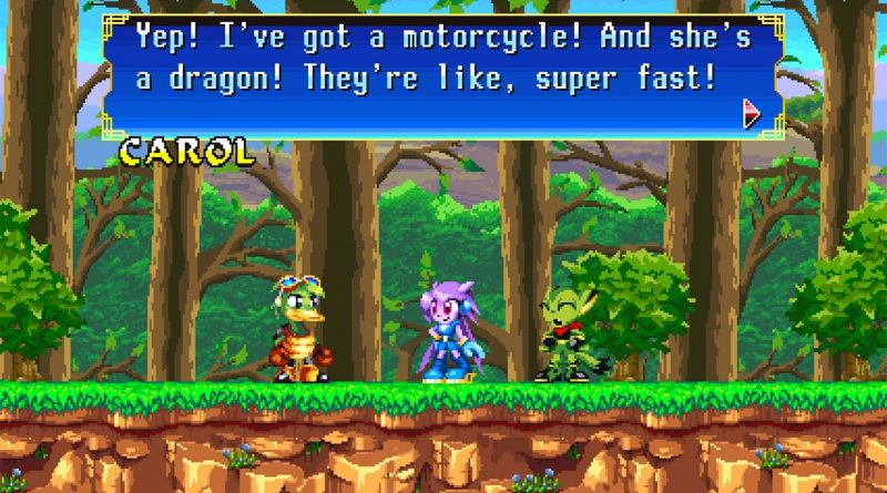 Freedom Planet Nintendo Switch