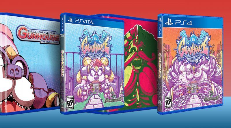 Gunhouse PS Vita PS4