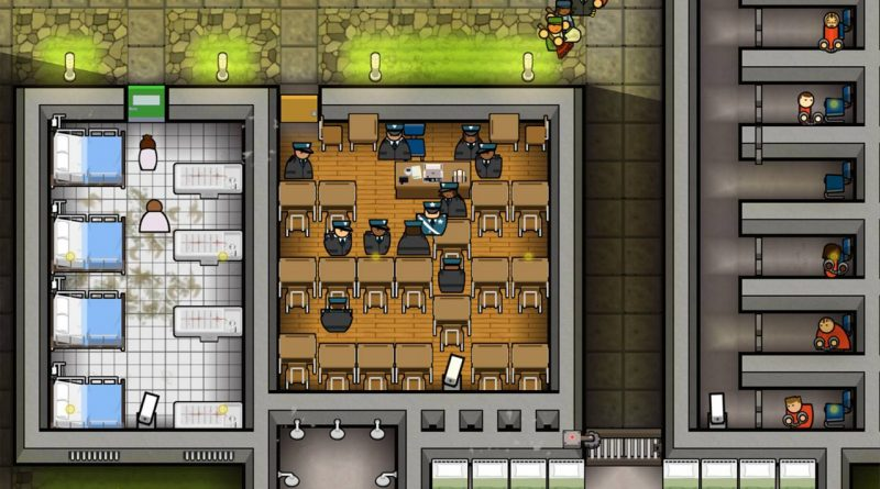Prison Architect Nintendo Switch