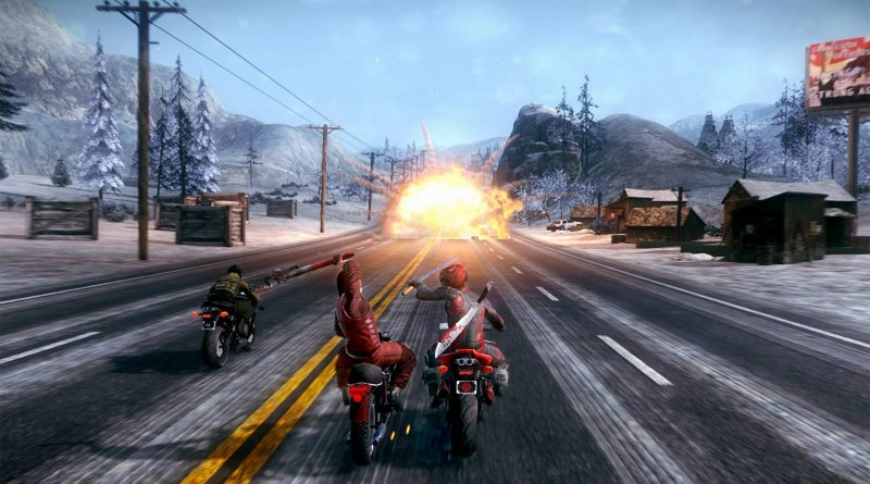 Road Redemption Nintendo Switch