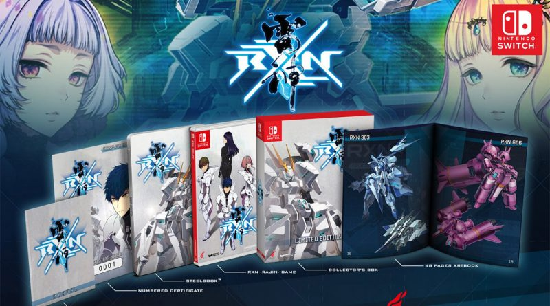 RXN: Raijin Nintendo Switch