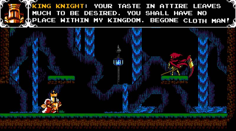 Shovel Knight: King of Cards PS Vita PS4 Nintendo Switch
