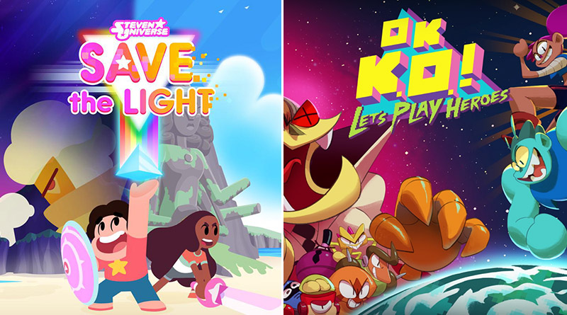 Steven Universe: Save the Light and OK K.O.! Let's Play Heroes Nintendo Switch