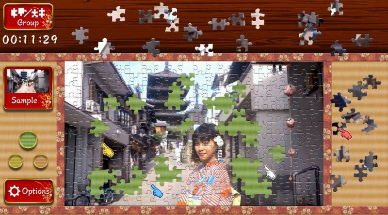 Animated Jigsaws: Japanese Women Nintendo Switch