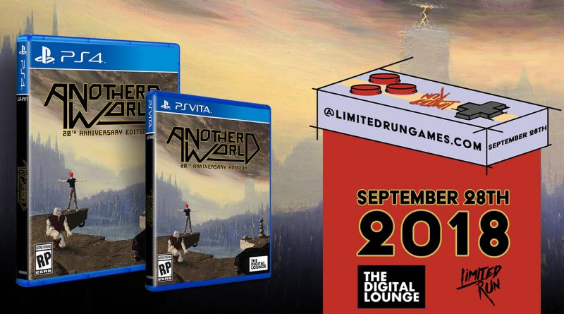 Another World - 20th Anniversary Edition PS Vita PS4