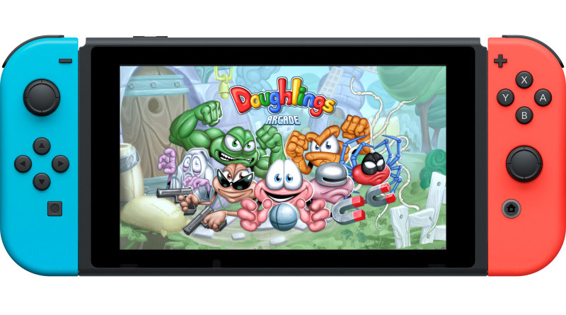 Doughlings: Arcade Nintendo Switch