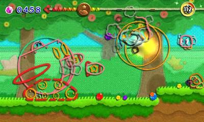 Kirby's Extra Epic Yarn Nintendo 3DS