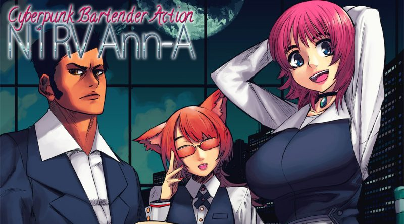 N1RV Ann-A: Cyberpunk Bartender Action Nintendo Switch