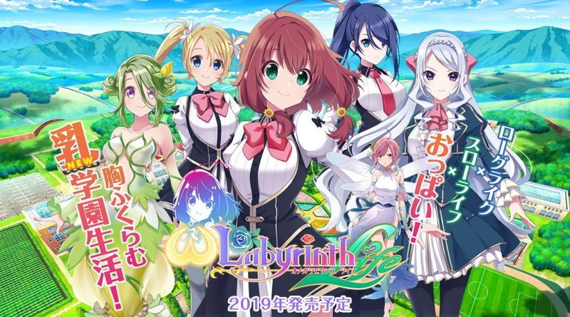 Omega Labyrinth Life Nintendo Switch