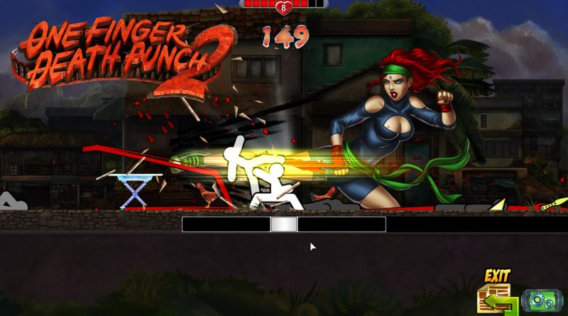 One Finger Death Punch 2 Announced For Nintendo Switch