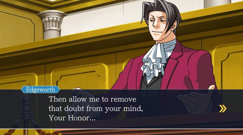 Phoenix Wright: Ace Attorney Trilogy Nintendo Switch