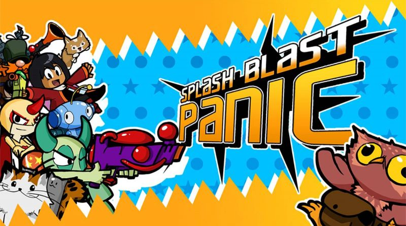Splash Blast Panic Nintendo Switch