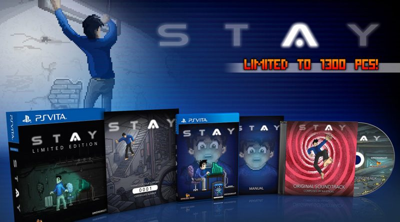 STAY PS Vita Limited Edition