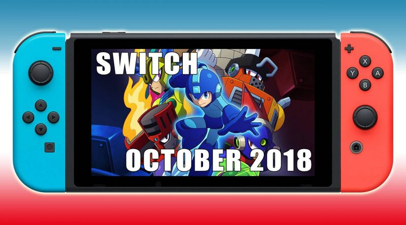 Nintendo Switch New Releases October 2018