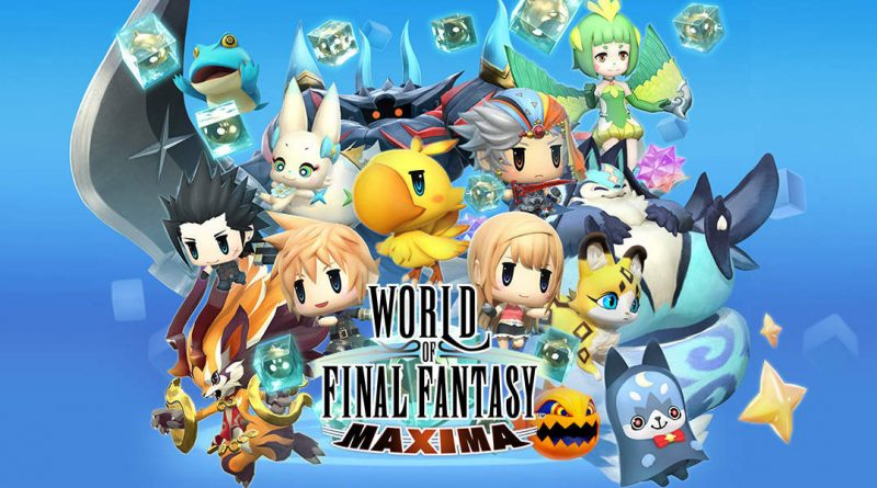 World of Final Fantasy Maxima Nintendo Switch