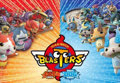 Yo-kai Watch Blasters Out Now On Nintendo 3DS