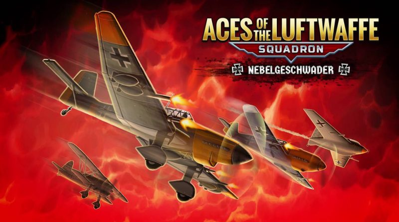 Aces of the Luftwaffe: Squadron The Nebelgeschwader Nintendo Switch