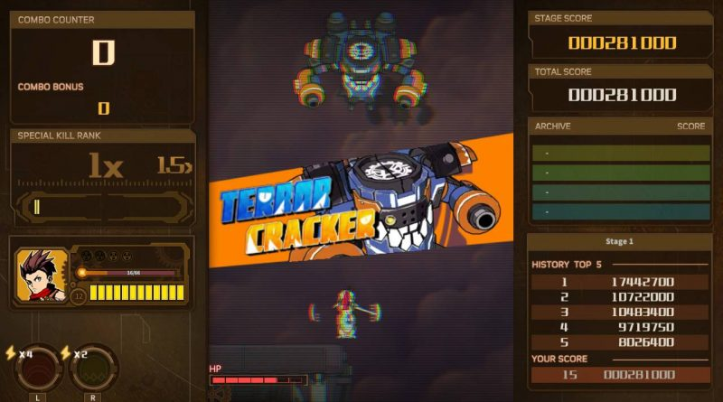 AngerForce: Reloaded Nintendo Switch