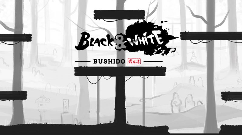 Black and White Bushido Nintendo Switch