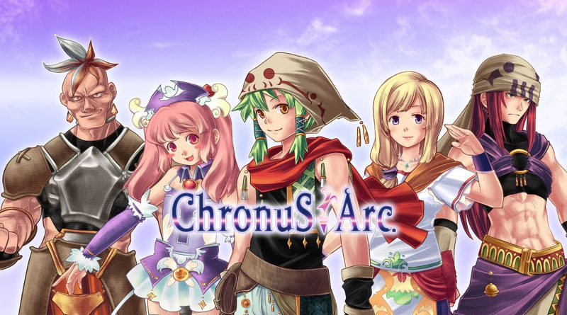 Chronus Arc PS Vita PS4