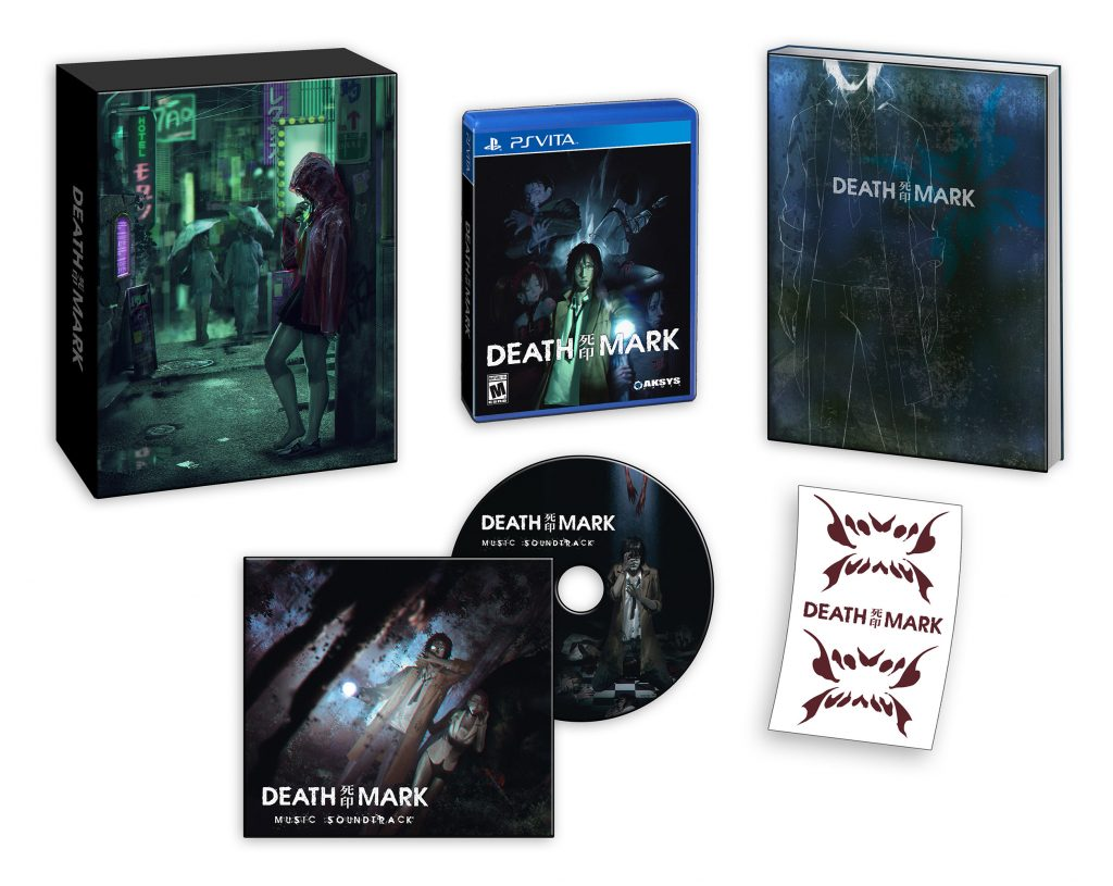 Death Mark Limited Edition PS Vita