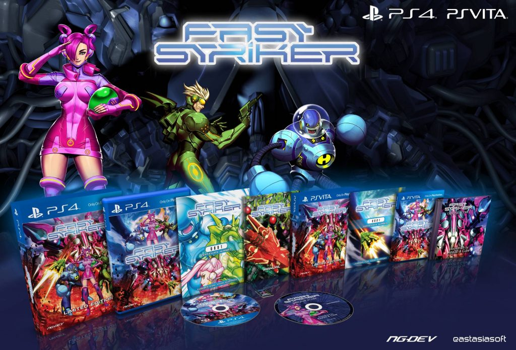 Fast Striker Limited Edition PS Vita PS4