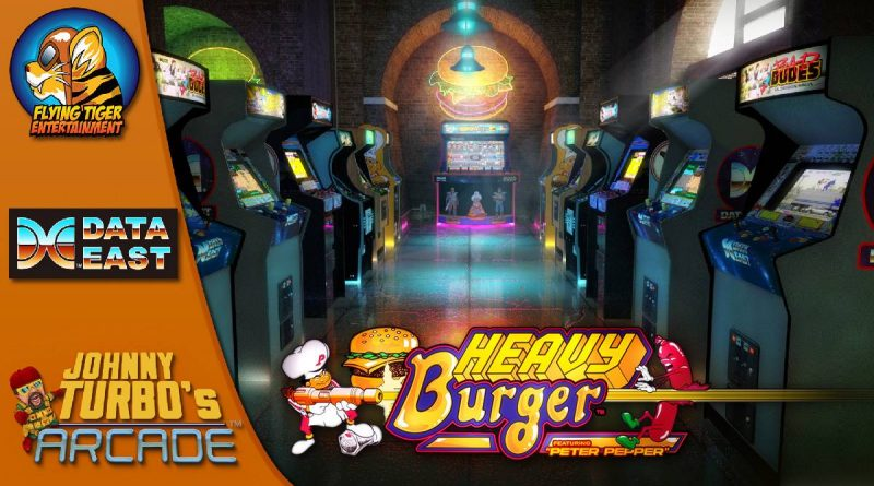 Johnny Turbo's Arcade: Heavy Burger Nintendo Switch