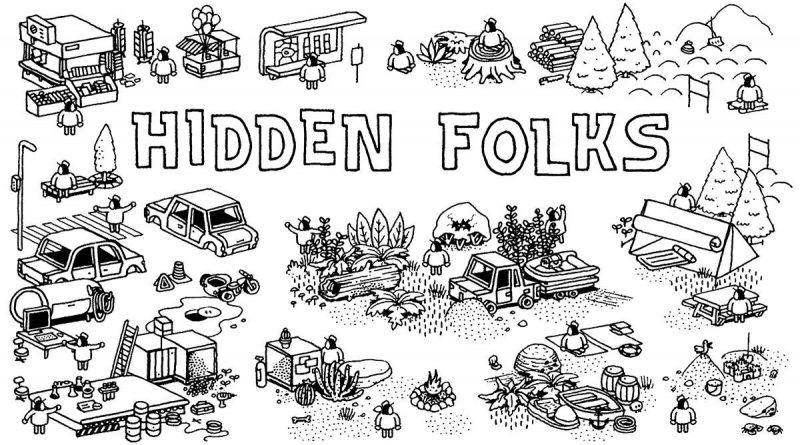 Hidden Folks Nintendo Switch