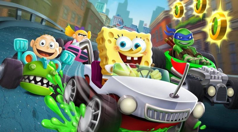 Nickelodeon Kart Racers Nintendo Switch