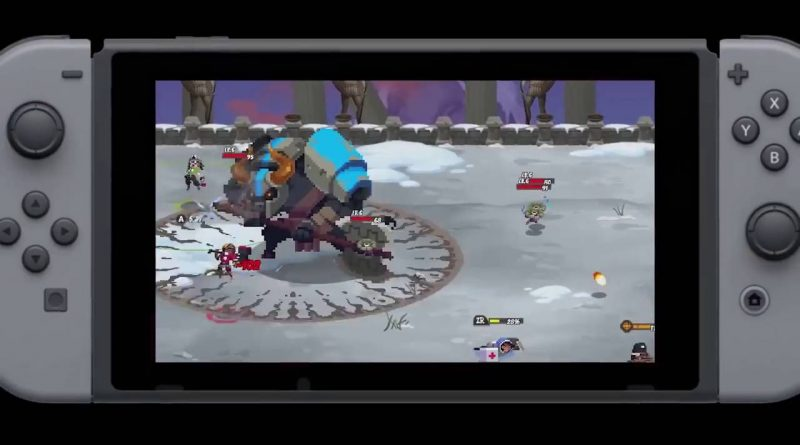Rogue Legacy Full Metal Furies Nintendo Switch