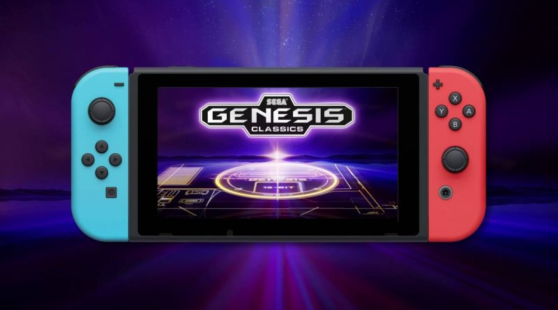 Sega Genesis Classics Nintendo Switch