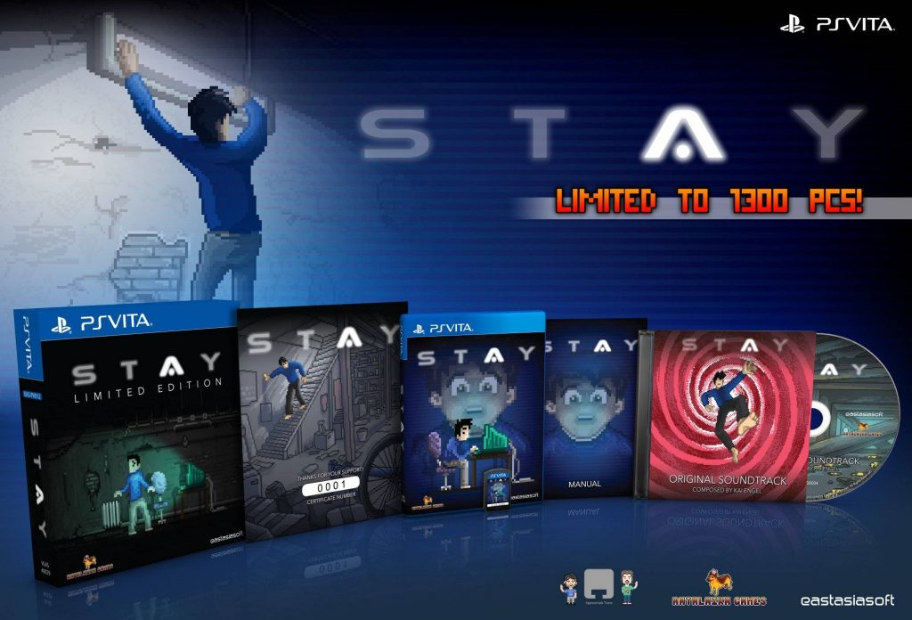 STAY Limited Edition PS Vita