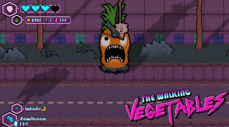 The Walking Vegetables: Radical Edition Nintendo Switch